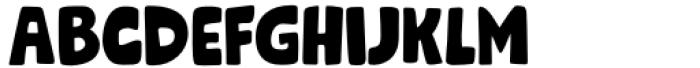 Grok Regular Font UPPERCASE