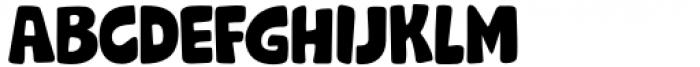Grok Regular Font LOWERCASE