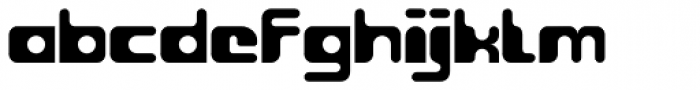Groovy Font LOWERCASE
