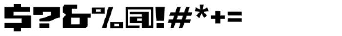 Grosser Font OTHER CHARS