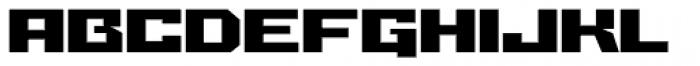 Grosser Font UPPERCASE
