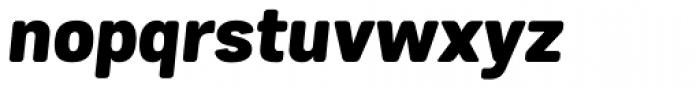 Grota Sans Alt Rounded Heavy Italic Font LOWERCASE