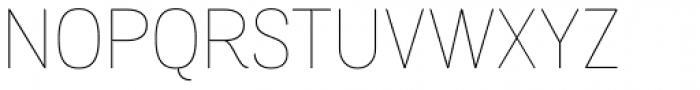 Grota Sans Alt Rounded Thin Font UPPERCASE