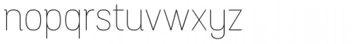 Grota Sans Alt Rounded Thin Font LOWERCASE