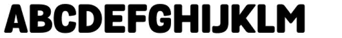Grota Sans Rounded Black Font UPPERCASE