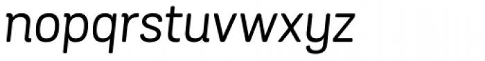 Grota Sans Rounded Italic Font LOWERCASE