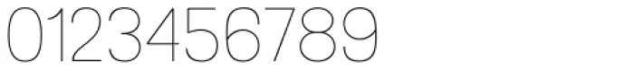 Grota Sans Rounded Thin Font OTHER CHARS