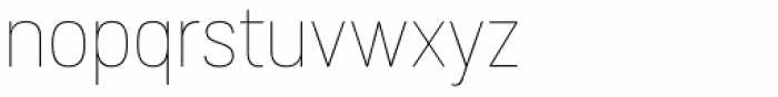 Grota Sans Rounded Thin Font LOWERCASE