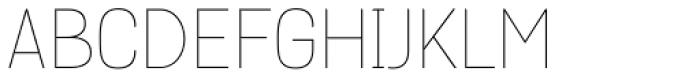 Grota Thin Font UPPERCASE