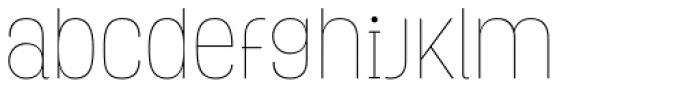 Grota Thin Font LOWERCASE