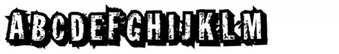 Grotbox Jumbled Font UPPERCASE