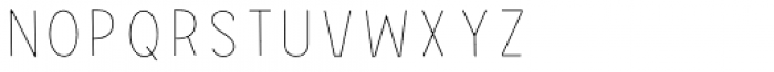 Grotes Sans Inline Font UPPERCASE