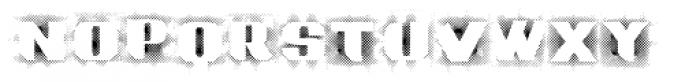 Grotesca Defragmentation Easy Font UPPERCASE