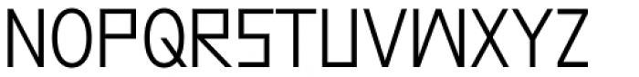 Grotesk Remix regular Font UPPERCASE