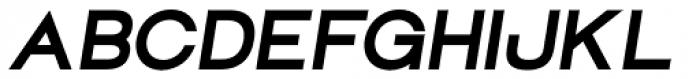 Groteska Bold Italic Font UPPERCASE