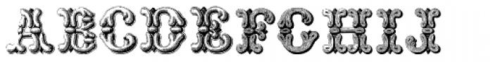 Grotesque And Arabesque Font UPPERCASE