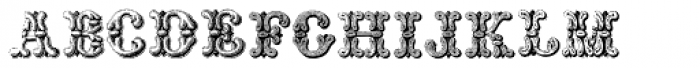 Grotesque And Arabesque Font LOWERCASE