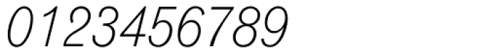 Grotesque MT Light Italic Font OTHER CHARS