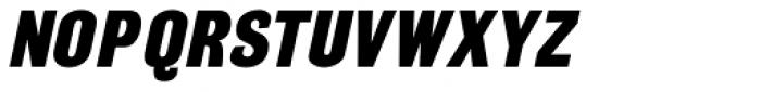 Grotesque Medium Italic Font UPPERCASE