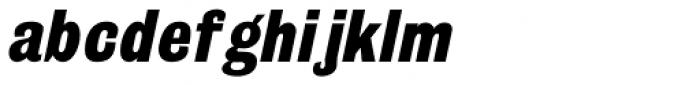 Grotesque Medium Italic Font LOWERCASE
