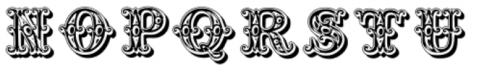 Grotesque Salloon Font UPPERCASE
