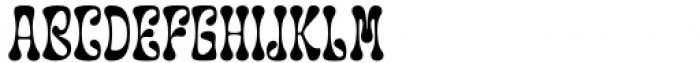 Groupie Regular Font UPPERCASE