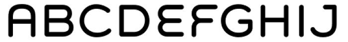 Grover Regular Font UPPERCASE