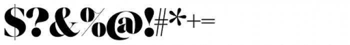 Grumpy Black 88 Font OTHER CHARS