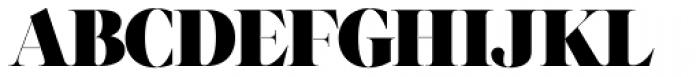 Grumpy Black 88 Font UPPERCASE