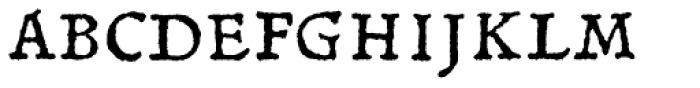 Gryphius MVB SC Font UPPERCASE