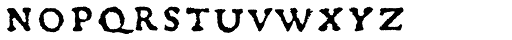 Gryphius MVB SC Font LOWERCASE
