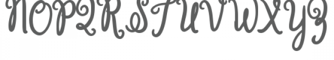 grassy meadow bold Font UPPERCASE