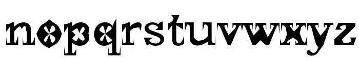 Gscript Font LOWERCASE