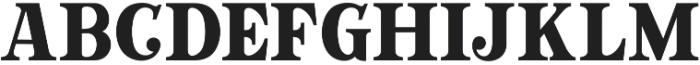 GT Crotila Display otf (400) Font LOWERCASE