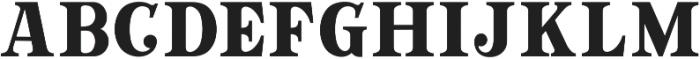 GT Crotila Serif ttf (400) Font UPPERCASE