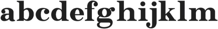 GT Crotila Serif ttf (400) Font LOWERCASE