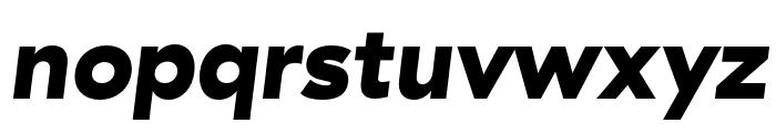 GT Haptik Black Oblique Font LOWERCASE