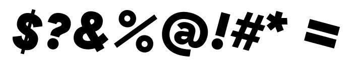 GT Haptik Black Rotalic Font OTHER CHARS