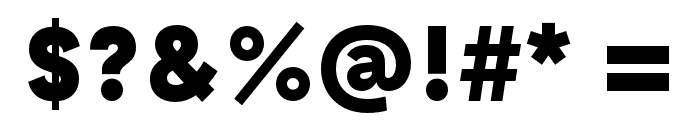 GT Haptik Black Font OTHER CHARS