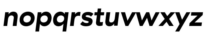 GT Haptik Bold Oblique Font LOWERCASE