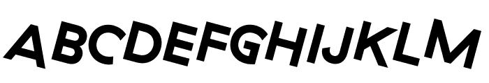GT Haptik Bold Rotalic Font UPPERCASE