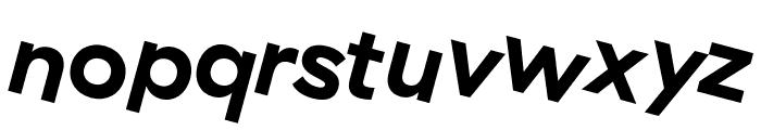 GT Haptik Bold Rotalic Font LOWERCASE