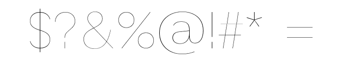 GT Haptik Lazer Font OTHER CHARS