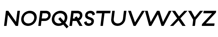 GT Haptik Medium Oblique Font UPPERCASE