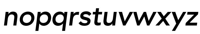 GT Haptik Medium Oblique Font LOWERCASE