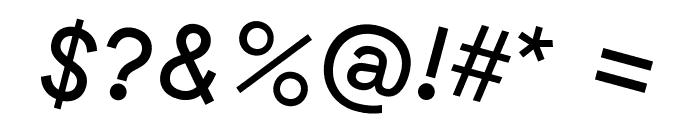 GT Haptik Regular Rotalic Font OTHER CHARS