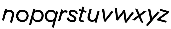 GT Haptik Regular Rotalic Font LOWERCASE