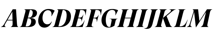 GT Super Display Bold Italic Font UPPERCASE