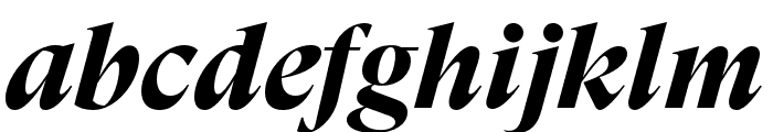 GT Super Display Bold Italic Font LOWERCASE