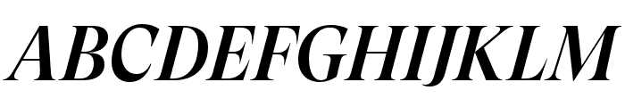 GT Super Display Medium Italic Font UPPERCASE
